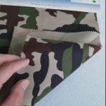 Camouflage minta 80/20 pamut poliészter twill szövet katonai egyenruha