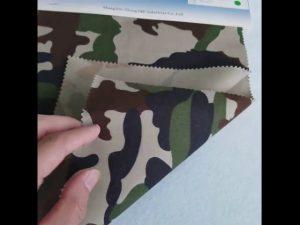 Camouflage minta 8020 pamut poliészter twill szövet katonai egyenruha