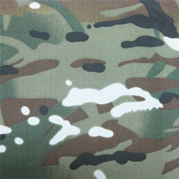 teflon 100% poliészter szőtt vízálló szabadtéri katonai álcázó eső kabát szövet