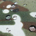 álcázott nyomtatási taslon szövet sátor vagy katonai ruhával