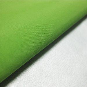 228T nylon taslon pu szövet / vízálló, lélegző esőkabátnak