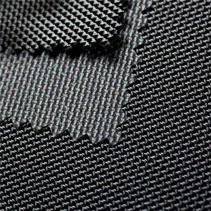 1680D twill jacquard poliészter oxford szövet, PU bevonatos textil táskákhoz