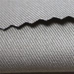 350gsm pamut lángálló szatén szövet munkaruházat anyaga EN11612 FR szövet fedélzetre