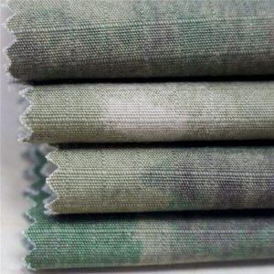 Antisztatikus katonai nyomtatás Ripstop pamut szövet a hadsereg ruházatához