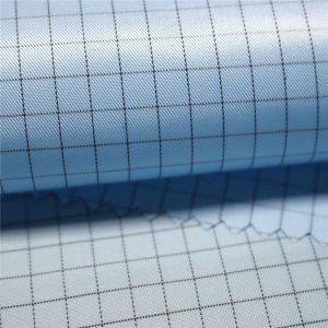 5mm csíkos poliészter antisztatikus szőtt szövet antisztatikus ruhákhoz